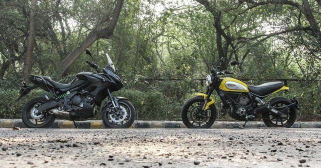 Ducati Scrambler Vs Kawasaki Versys