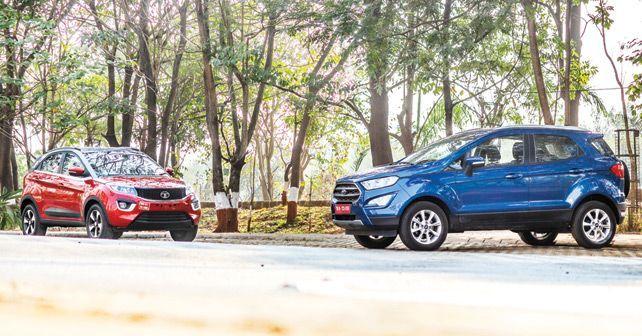 Ford EcoSport Vs Tata Nexon Lead