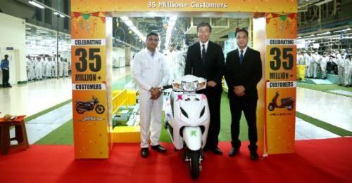 Honda 2Wheelers Celebrates 35 Million Units M