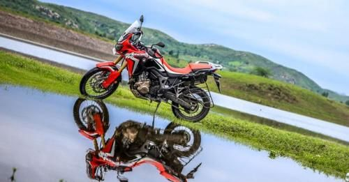 Honda Africa Twin Stand View