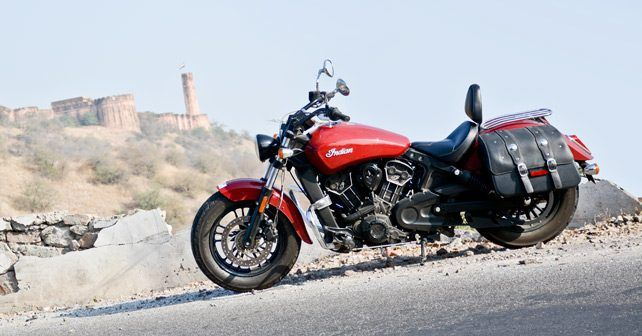 Indian Scout Sixty Side Profile