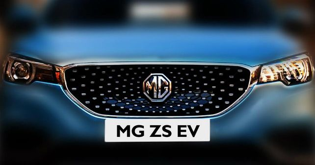 MG Hector EZS Electric SUV Teased