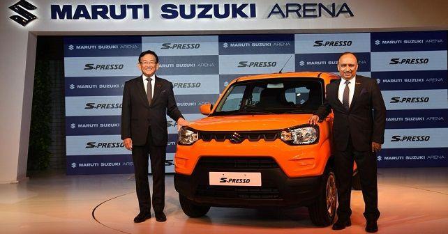 Maruti Suzuki S Presso Launch