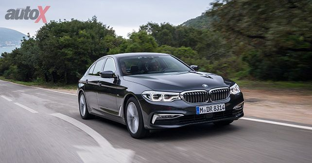 New BMW 5 Series Front Motion