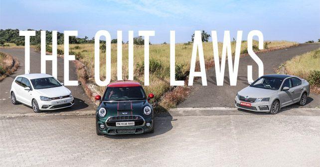 Octavia RS Vs Polo GITI Vs MINI Cooper S