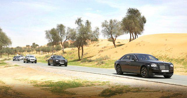 Rolls Royce Black Motion