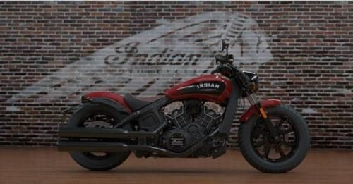 The All New Indian Scout Bobber Side Profile