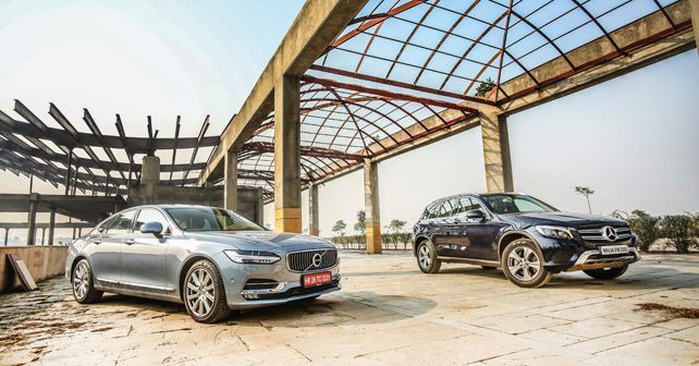 Volvo S90 Vs Mercedes Benz GLC