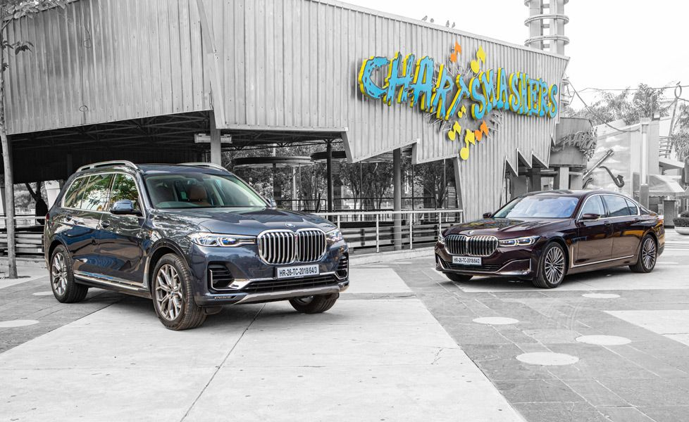 bmw x7 and bmw 7 series