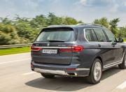 bmw x7 rear three quarter dynamic