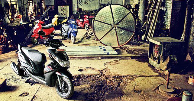 TVS Wego vs Suzuki Swish vs Piaggio Vespa vs Honda Dio vs Yamaha Ray Z