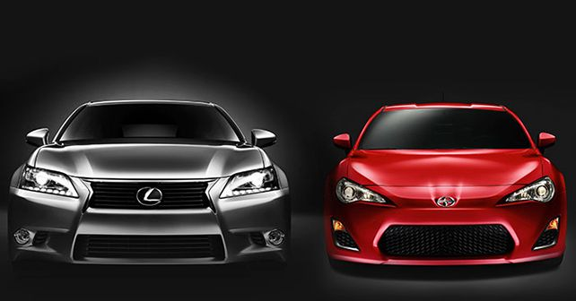 Lexus GS350 vs Scion FR-S