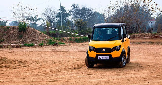 Eicher Polaris Multix Front Three Quarter Dynamic