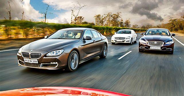 BMW Gran Coupe vs Jaguar XJ vs Mercedes Benz CLS