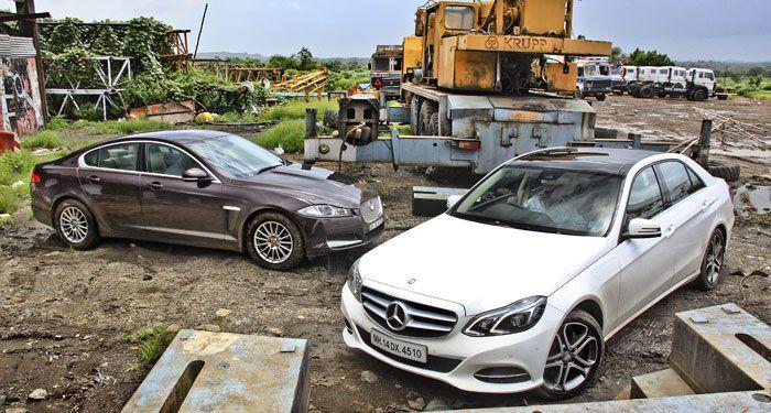 Mercedes-Benz E-Class vs Jaguar XF