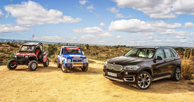 BMW X5 vs Rally Gypsy vs Polaris RZR XP 900