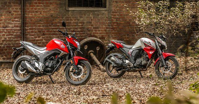 Honda CB Hornet 160 vs Yamaha FZ-S