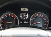 isuzu d max v cross automatic instrument cluster