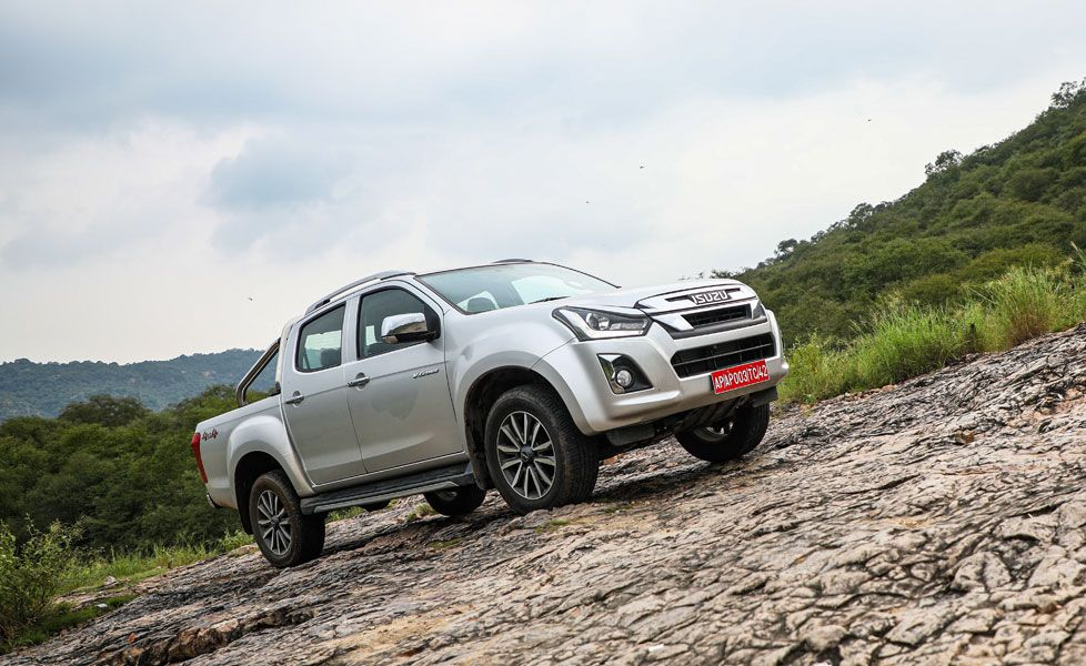 isuzu d max v cross automatic