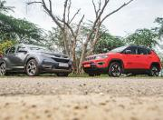 jeep compass trailhawk vs honda crv awd