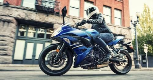 Kawasaki Ninja650 Blue Launch M1