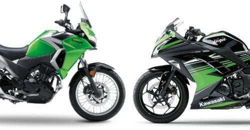 Kawasaki Versys 300 Vs Kawasaki Ninja300 M