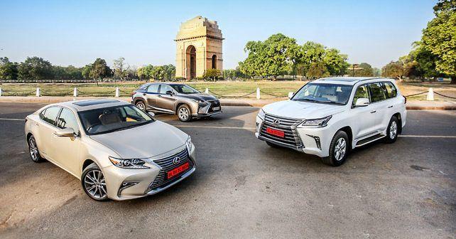 Lexus es 300h, Lexus rx 450h, Lexus lx 450d