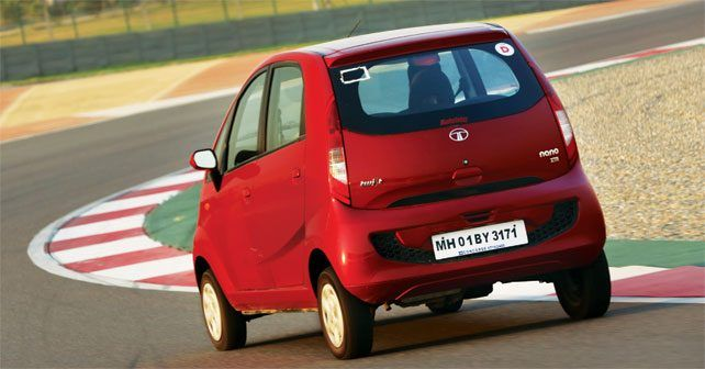 Tata Nano Rear Three Quarter