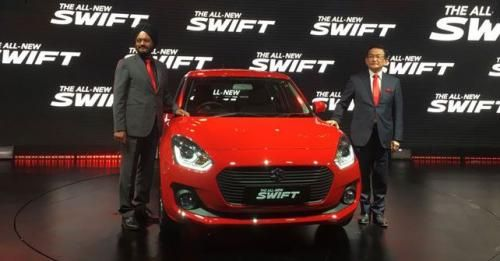 Maruti Suzuki Swift Launch