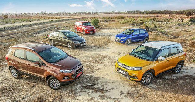 Maruti Suzuki Vitara Brezza vs Ford EcoSport, Mahindra TUV300, Honda City & Hyundai Elite i20