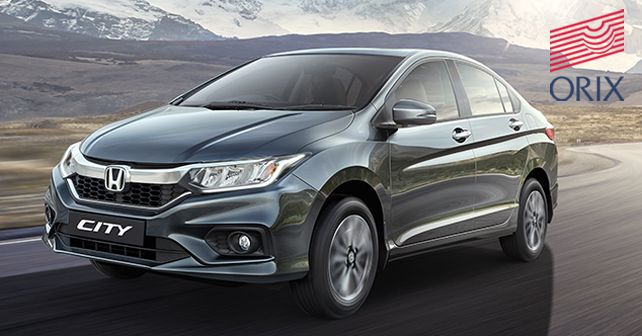 Honda City will be one of the models available for leasing