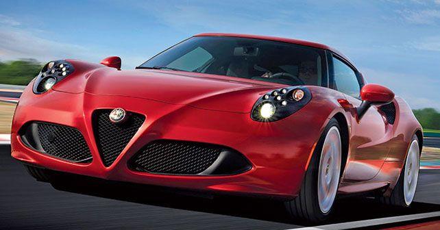 2013 Alfa Romeo 4C Front View