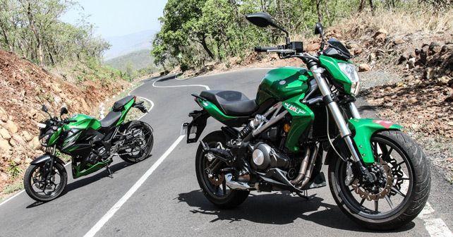Benelli TNT 300 vs Kawasaki Z250