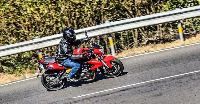 Ride Kawaski Benelli