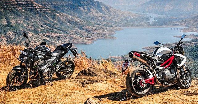 Kawasaki Z800 vs Benelli TNT 899