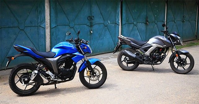 CB Unicorn 160 vs Gixxer