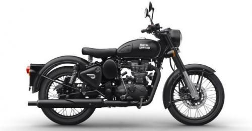 Royal Enfield Classic 500 Stealth Black M1