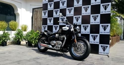 Triumph Speedmaster India Launch