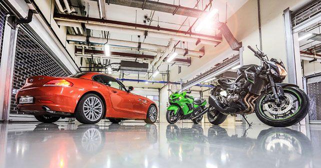 BMW Z4 sDrive35i vs Kawasaki Z800 vs Kawasaki ZX-14R