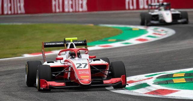 Jehan Daruvala at Monza Round 7 of the FIA Formula 3 Championship
