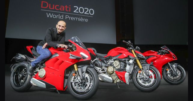 Ducati World Première: all-new Streetfighter V4, Panigale V2 and 2020 Panigale V4 unveiled