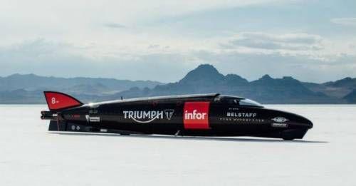 2016 Triumph Martin Land Speed Record M