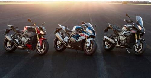 2017 BMW S1000R S1000RR S1000XR