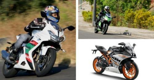 302r Ninja300 Rc390 Comparison