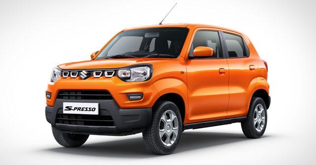 Maruti Suzuki S-Presso Static Front Quarter