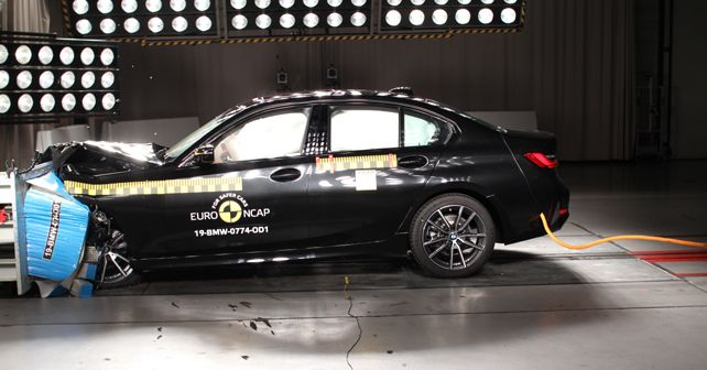2019 BMW 3 Series Euro NCAP Crash Test