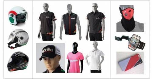 Aprilia Vespa Merchandise