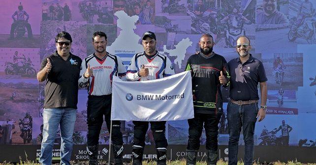 BMW GS Trophy Winners