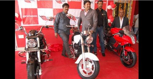 DSK Hyosung Photo Jodhpur Launch Dec 2014