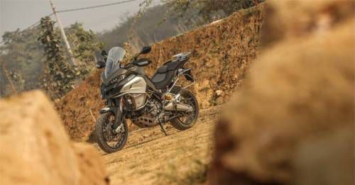 Ducati Multistrada Enduro Front Three Quarter